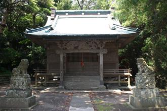 海南刀切神社