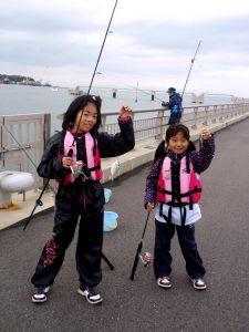 ちょい投げ釣り体験