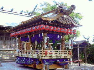 【御船・山車・神輿】長須賀