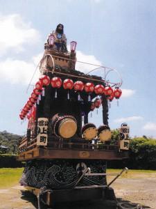 【御船・山車・神輿】上町