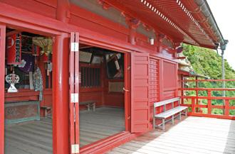 大福寺(崖の観音